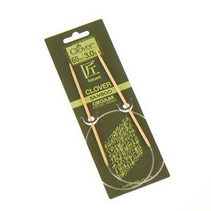 Bamboe rondbreinaalden 60cm Clover nr.9