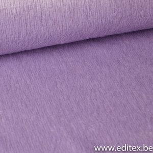 harige mantelstof pastel lila (gebruikt in fibre mood)