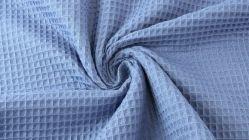 jeans blauw - wafeltjesstof