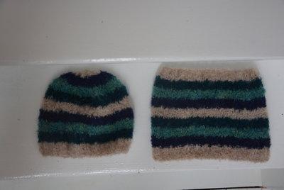 breipakket sjaal en muts in  bouclé