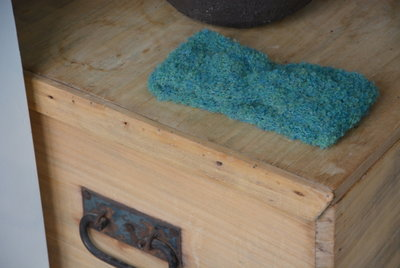 Breipakket haarband in bouclé