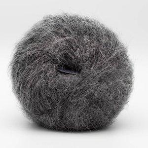 baby silk fluffy grey melange 2101