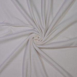 white - double gauze jersey