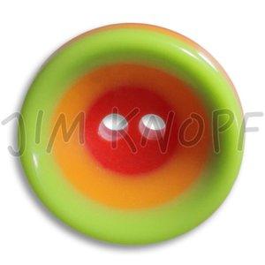 groen knop kunststof 16 mm