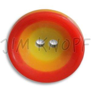 rood knop kunststof 16 mm