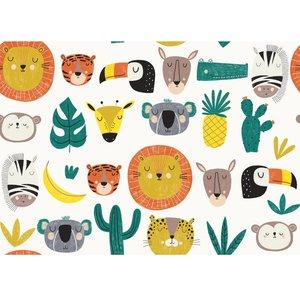 animal hats - katoen