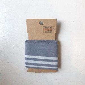 cuff donker grijs streep