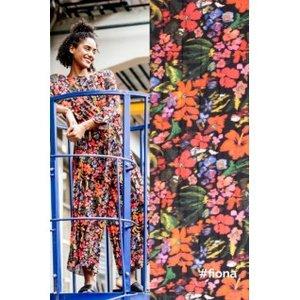 bloemen voor Fiona jumpsuit - plissé