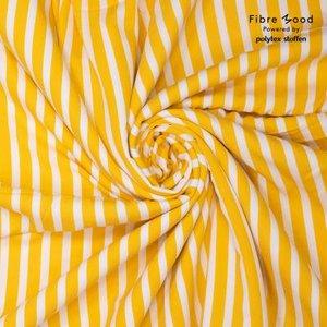Geel/wit voor Alia blouse - viscose