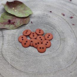 chestnut - classic matte knoopje 15 mm