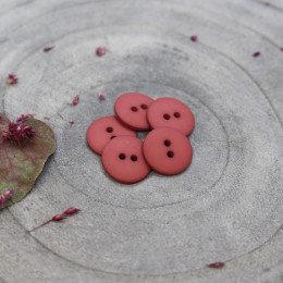 terracotta - classic matte knoopje 15 mm