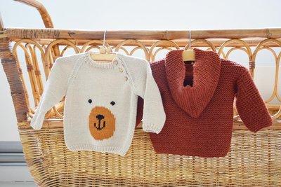 breipatroontje mijn eerste raglan trui met berensnoetje