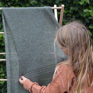 Breipatroon waves sjaal