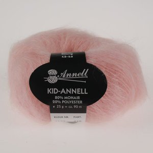 Kid annell 3132 abrikoos roos