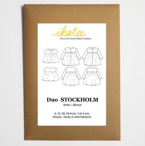 duo stockholm (robe+blouse)