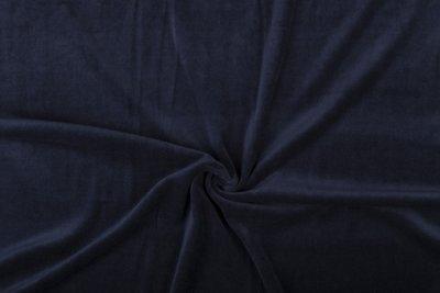 nicky velours donker blauw
