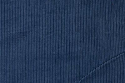 brede rib jeans blauw