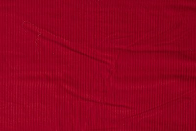 brede rib jeans rood