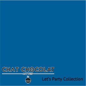 Let's party - Viscose blue