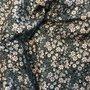 little flower black - winter cotton