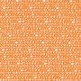 scribble oranje - katoen